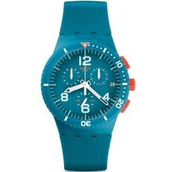 Buy Unisex Swatch Watch Chrono Plastic Patmos SUSN406 Chronograph