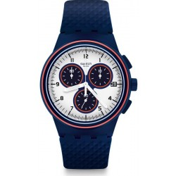 Men's Swatch Watch Chrono Plastic Parabordo SUSN412 Chronograph