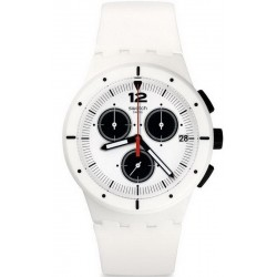 Buy Unisex Swatch Watch Chrono Plastic Why Again SUSW406 Chronograph