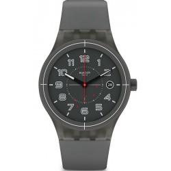 Buy Unisex Swatch Watch Sistem51 Sistem Ash SUTM401 Automatic