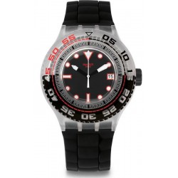 Men's Swatch Watch Scuba Libre Stormy SUUK400