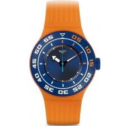 Unisex Swatch Watch Scuba Libre Serifos SUUO100