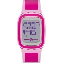 Buy Women's Swatch Watch Digital Touch Zero One Pinkzero SUVP100