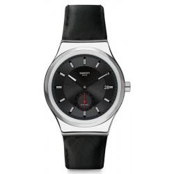 Buy Mens Swatch Watch Irony Sistem51 Petite Seconde Black SY23S400 Automatic