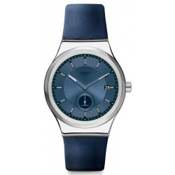 Buy Unisex Swatch Watch Irony Sistem51 Petite Seconde Blue SY23S403 Automatic
