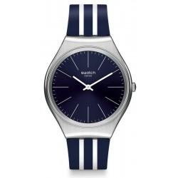 Buy Unisex Swatch Watch Skin Irony Skinblueiron SYXS106