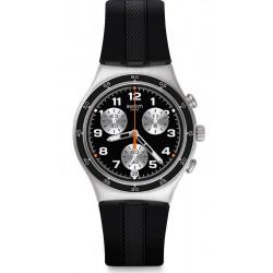 Men's Swatch Watch Irony Chrono Apres Vous YCS598 Chronograph