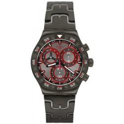 Men's Swatch Watch Irony Chrono Crazy Drive YVM406G Chronograph