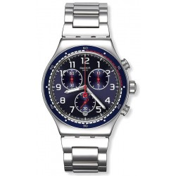 Men's Swatch Watch Irony Chrono Swatchour YVS426G Chronograph
