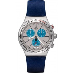 Unisex Swatch Watch Irony Chrono Blau Me On YVS435 Chronograph