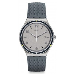 Men's Swatch Watch Irony Big Classic Asphaltise YWS447