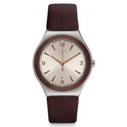 Men's Swatch Watch Irony Big Classic O'Choco YWS450