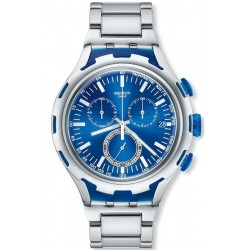 Men's Swatch Watch Irony Xlite Endless Energy YYS4001AG Chronograph