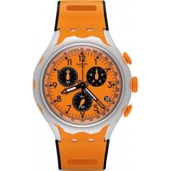 Men's Swatch Watch Irony Xlite Caccia YYS4010 Chronograph
