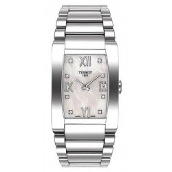 Women's Tissot Watch Generosi-T T0073091111600 Diamonds Mother of Pearl