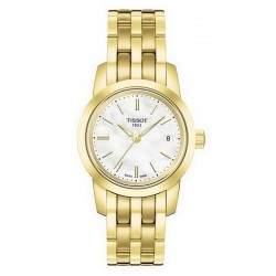 Buy Women's Tissot Watch Classic Dream T0332103311100 Mother of Pearl