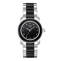 Women's Tissot Watch T-Lady Cera T0642102205600 Diamonds Quartz