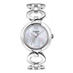Buy Women's Tissot Watch Pinky T0842101111601 Diamonds Mother of Pearl