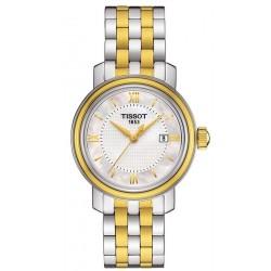Buy Women's Tissot Watch Bridgeport T0970102211800 Mother of Pearl