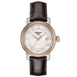 Buy Women's Tissot Watch Bridgeport T0970102611800 Mother of Pearl